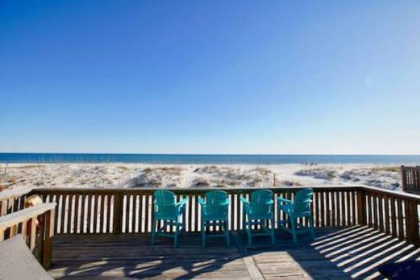 gulf shores beachfront vacation home